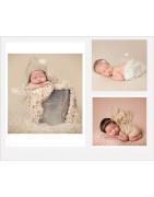 Fond tissu photo nouveaux nés