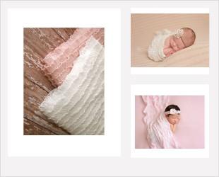 wraps nouveaux nés photo prop