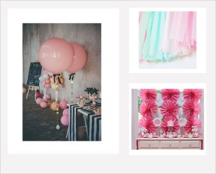Décorations salle, jardin, studio photo...