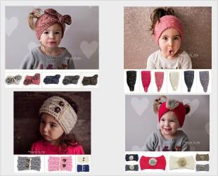 bandeau laine bébé