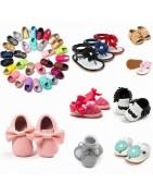 Chaussures avec semelles souples ou semis rigides