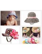 chapeaux de soleil enfants