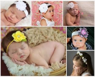 bandeaux fleuris enfants