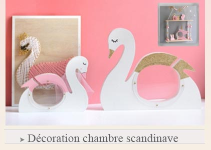 décoration chambre scandinave