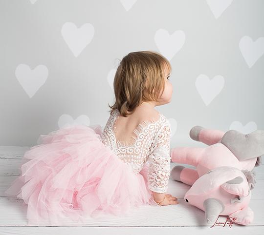 robe fille spécial céréméonie noel