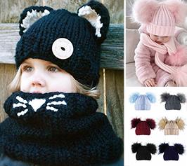 bonnets hiver pour bébé fille