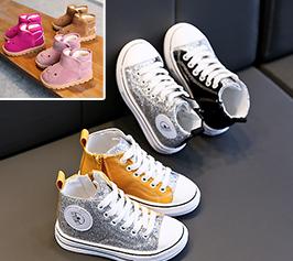 baskets et chaussures bébé fille