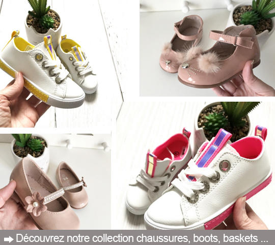 chaussure basket petite fille