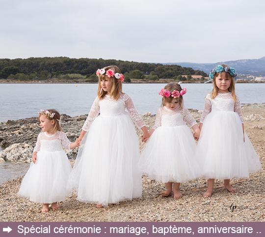 robe fille spécial cérémonie