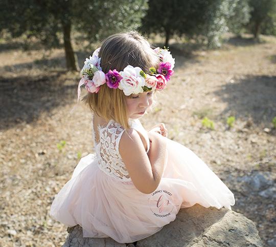 robe cérémonie petite fille